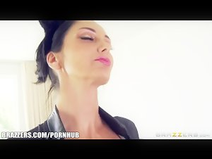 Ava is a good pussy cat - Brazzers