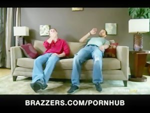 Horny brunette big-tit wife cheats on husband with a real estate - Brazzers